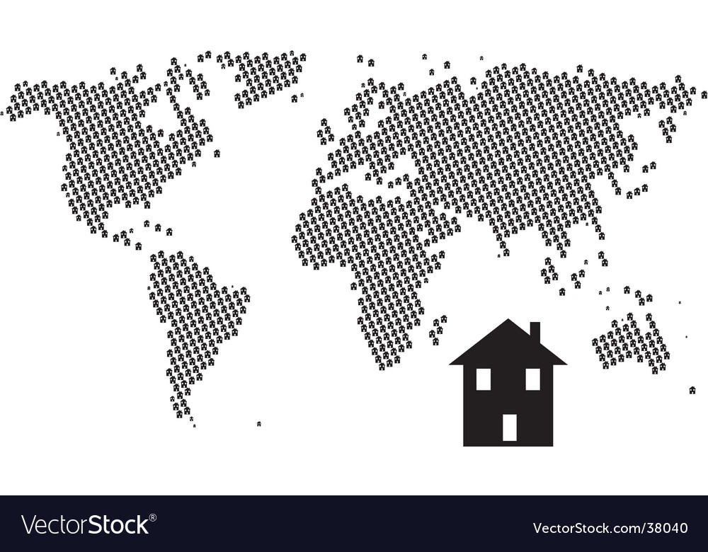 House world vector | Price: 1 Credit (USD $1)