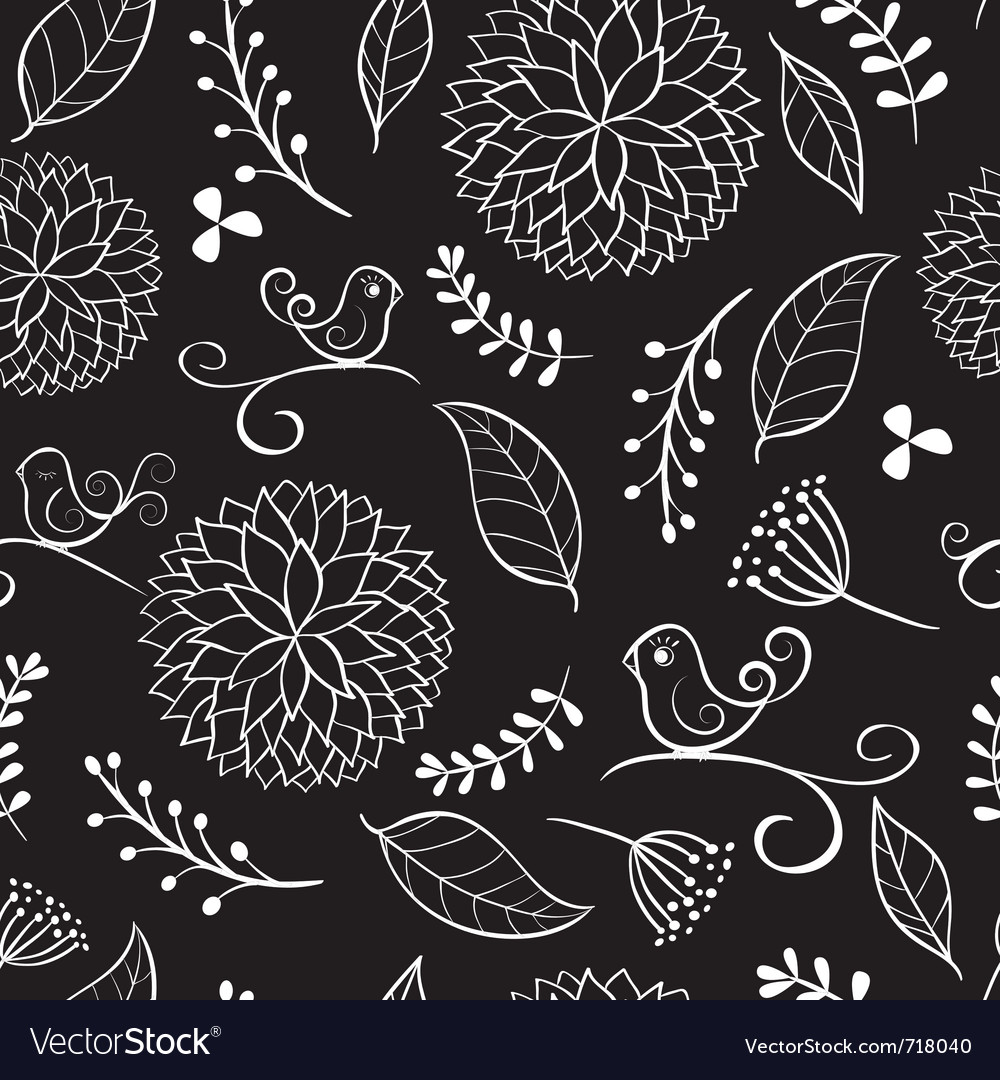 Summer floral patterns vector | Price: 1 Credit (USD $1)