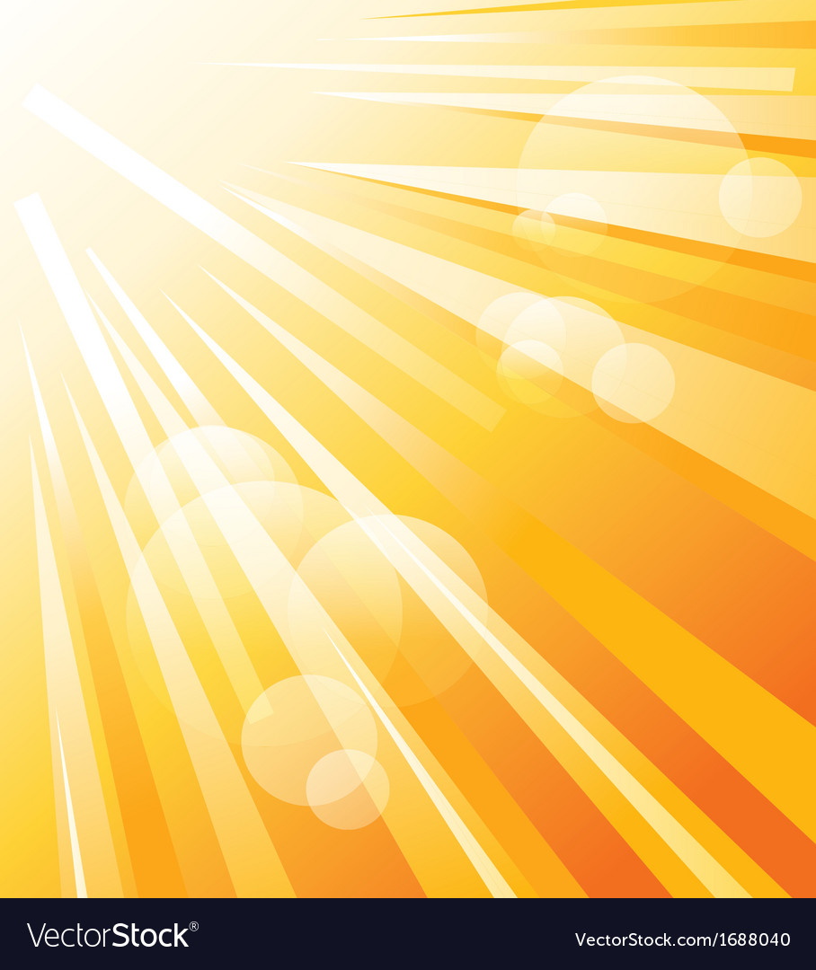 Sun shinning vector | Price: 1 Credit (USD $1)