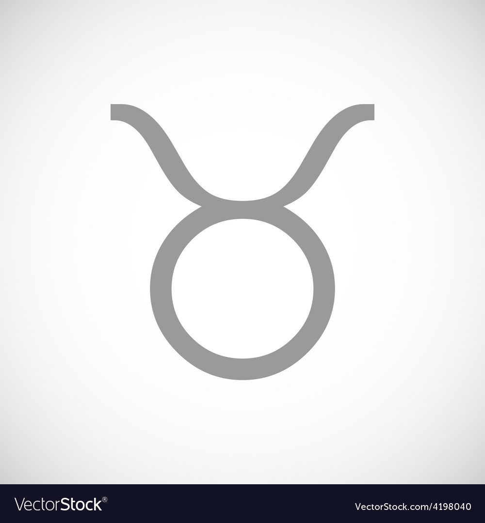Taurus black icon vector   Price: 1 Credit (USD $1)