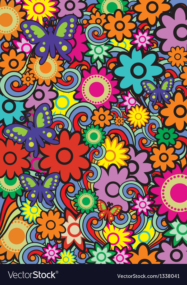 Seamless pattern with color vector | Price: 1 Credit (USD $1)