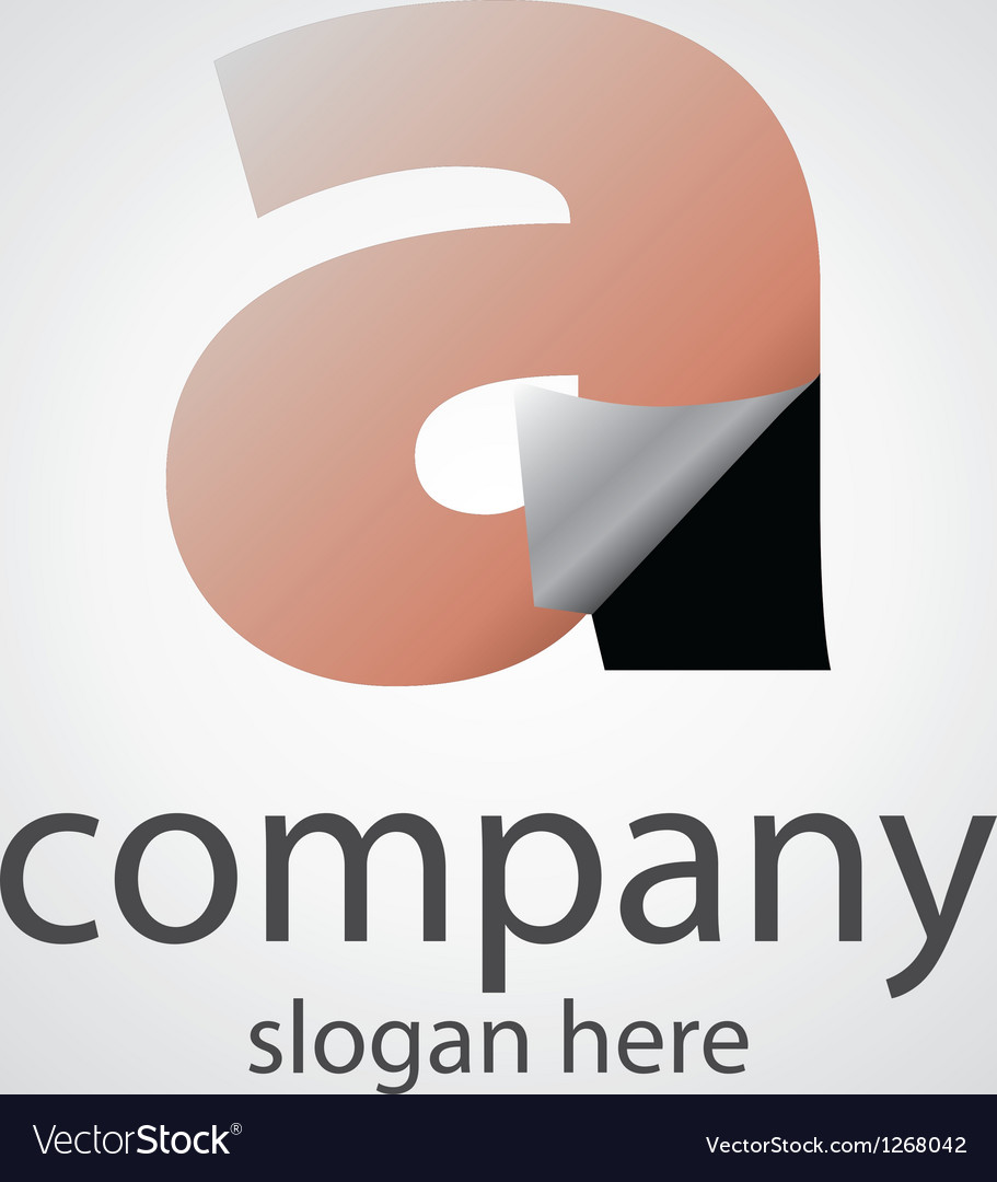 Logo with a transparent letter a vector | Price: 1 Credit (USD $1)