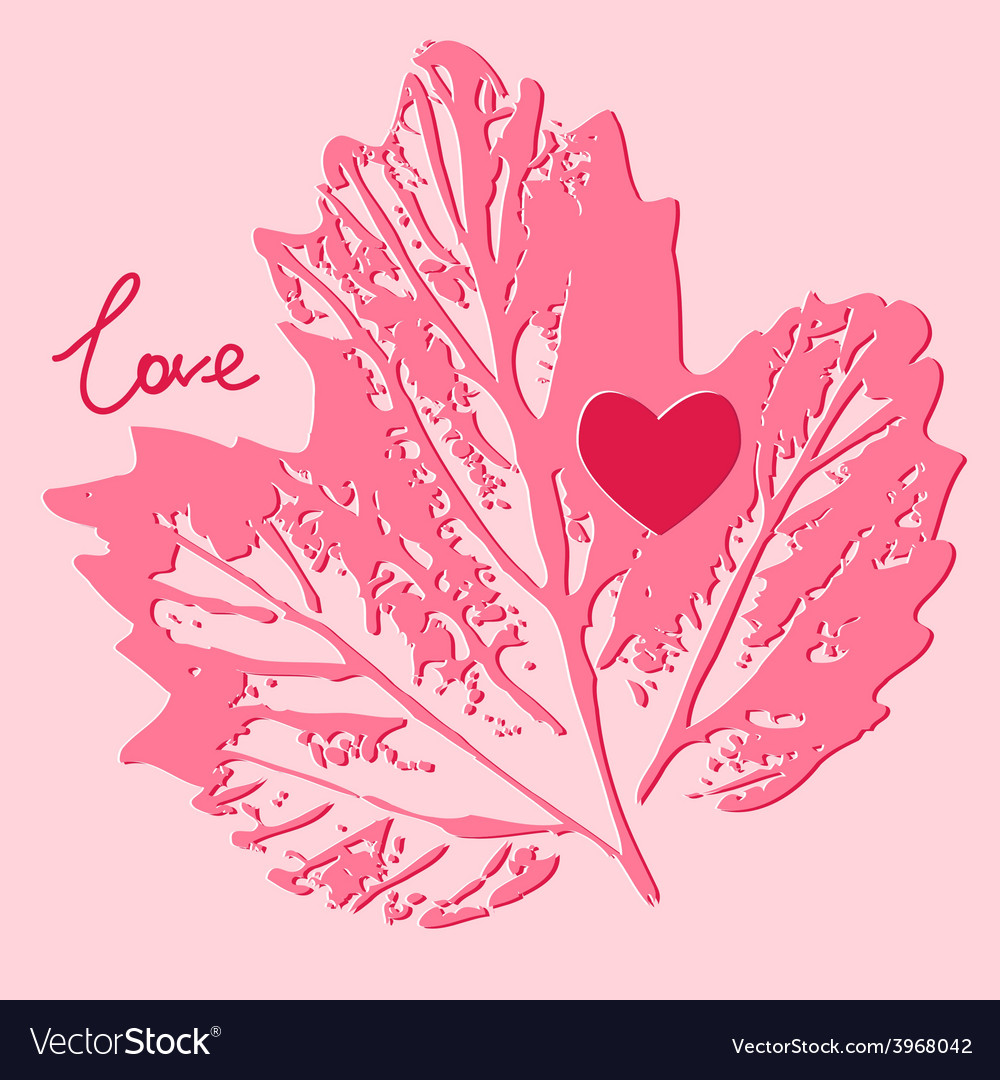 Love card decorative background vector | Price: 1 Credit (USD $1)
