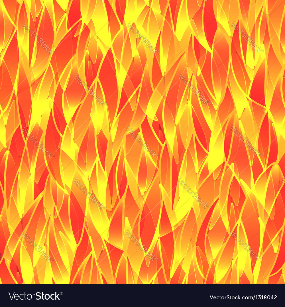 Seamless fiery pattern vector | Price: 1 Credit (USD $1)