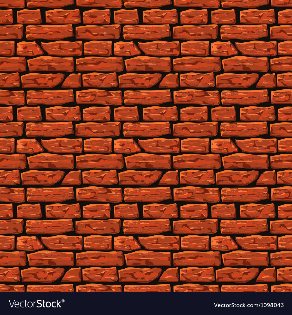Brick wall texture eps8 vector | Price: 1 Credit (USD $1)