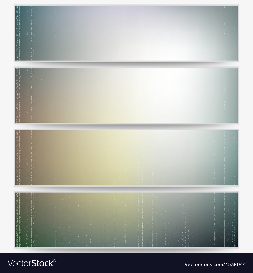Abstract unfocused natural headers blurred design vector   Price: 1 Credit (USD $1)