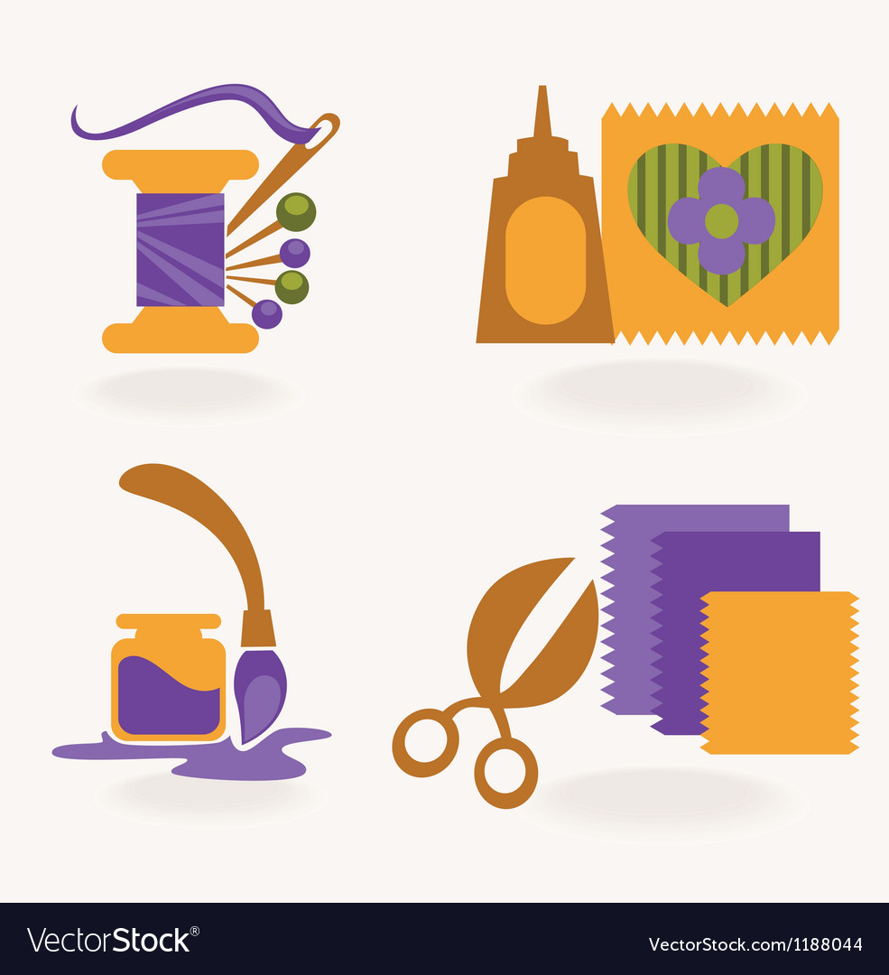 Craft and hand made collection vector | Price: 1 Credit (USD $1)
