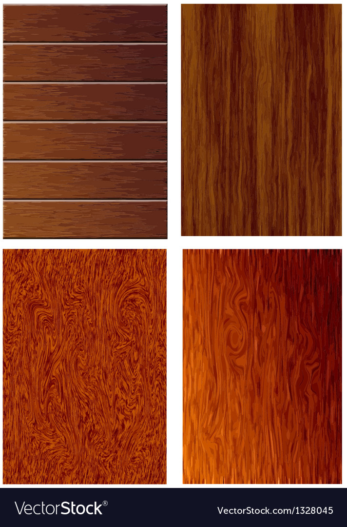 4 texture of wood vector | Price: 1 Credit (USD $1)