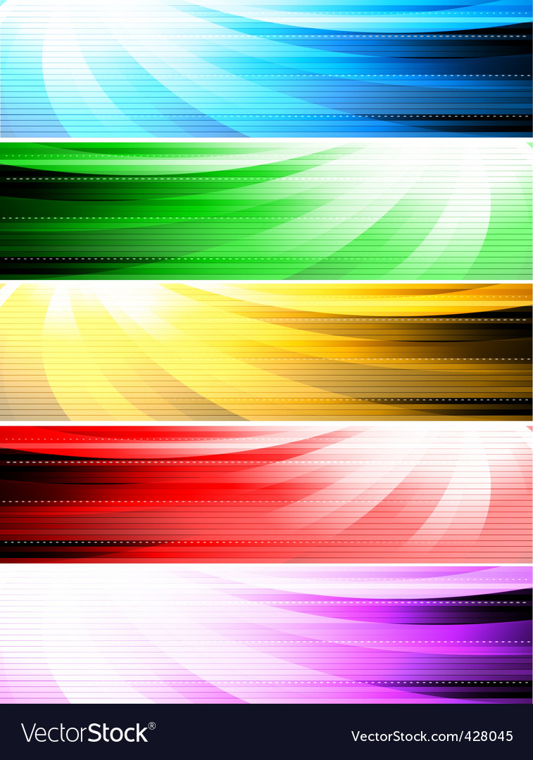 abstract style banners vector | Price: 1 Credit (USD $1)