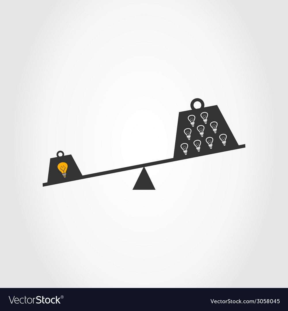 Bulb scales vector | Price: 1 Credit (USD $1)