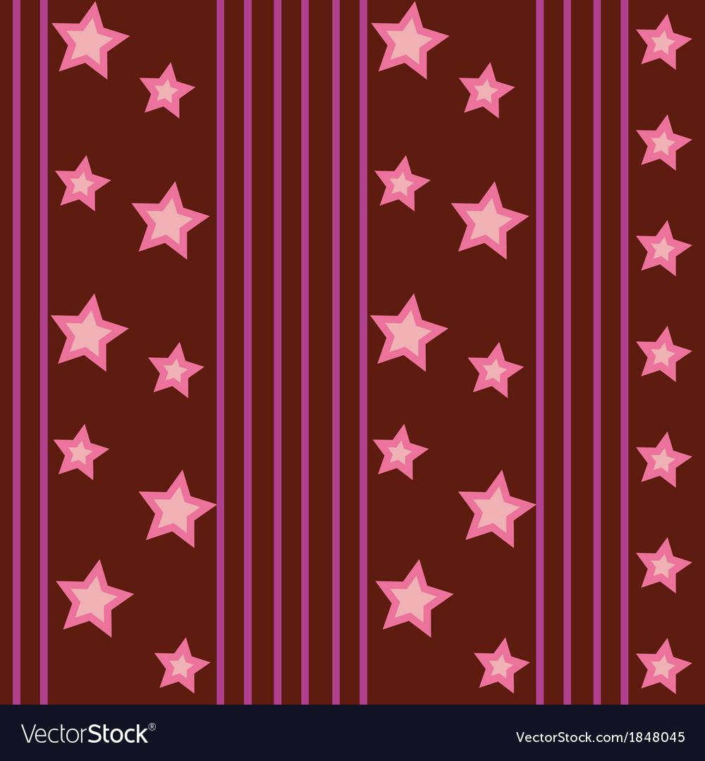 Funky stars pattern vector | Price: 1 Credit (USD $1)