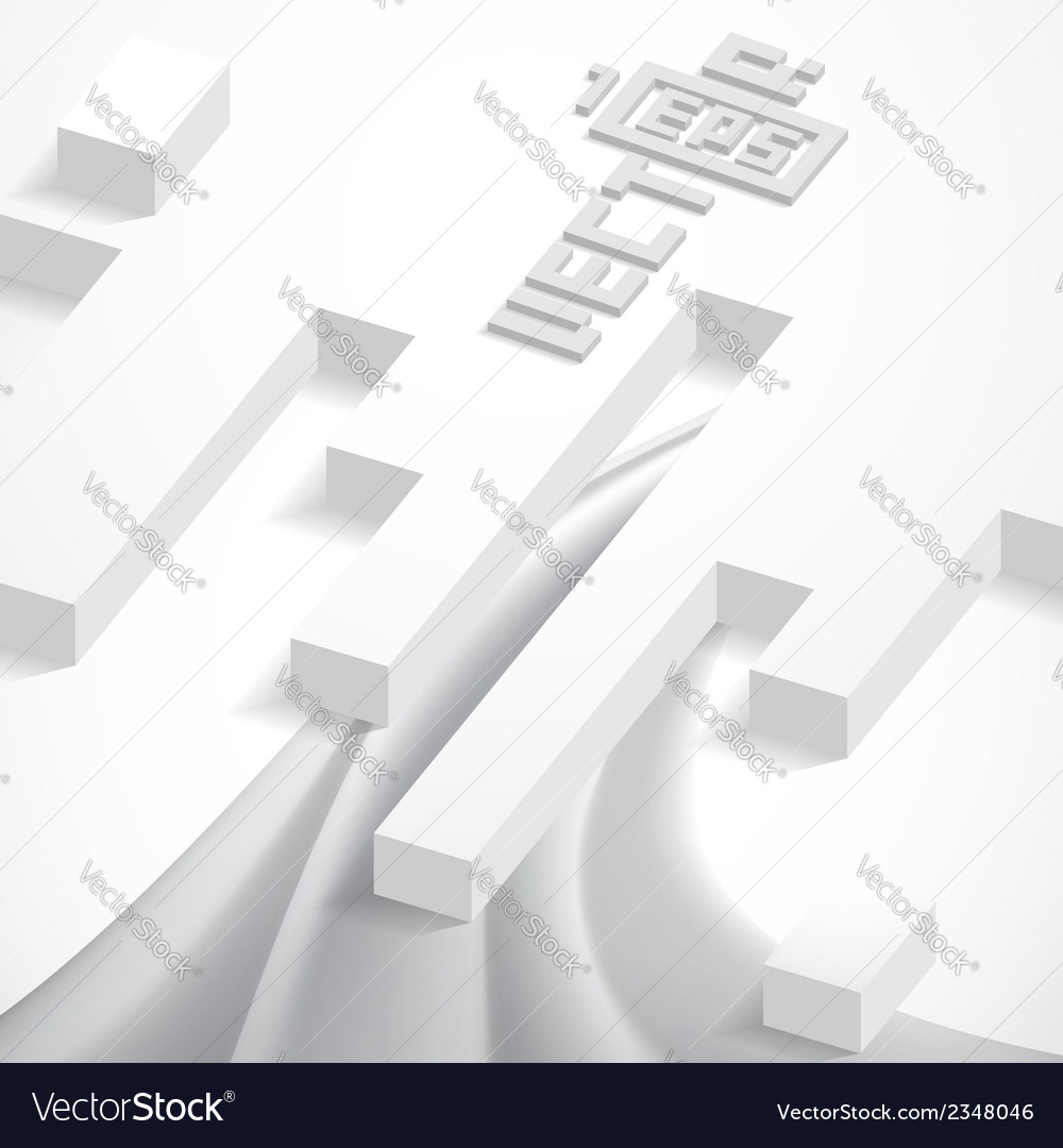 Abstract 3d geometrical design vector   Price: 1 Credit (USD $1)