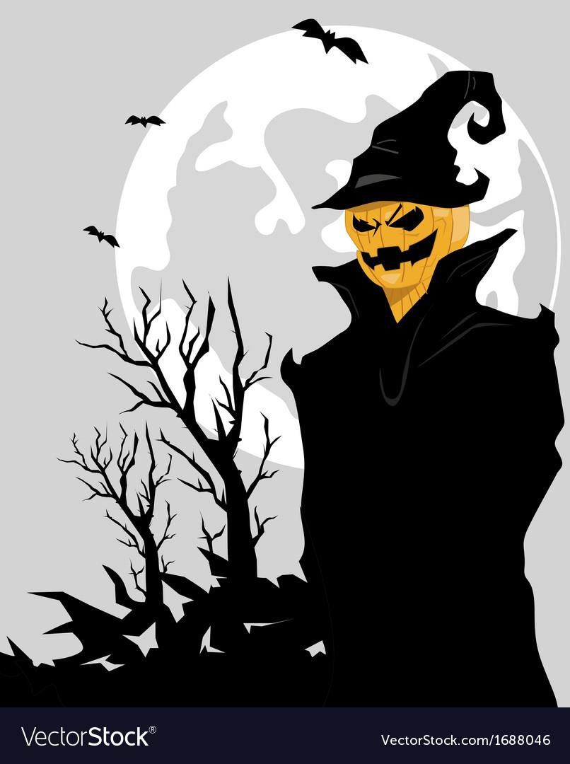 Halloween monster vector | Price: 1 Credit (USD $1)