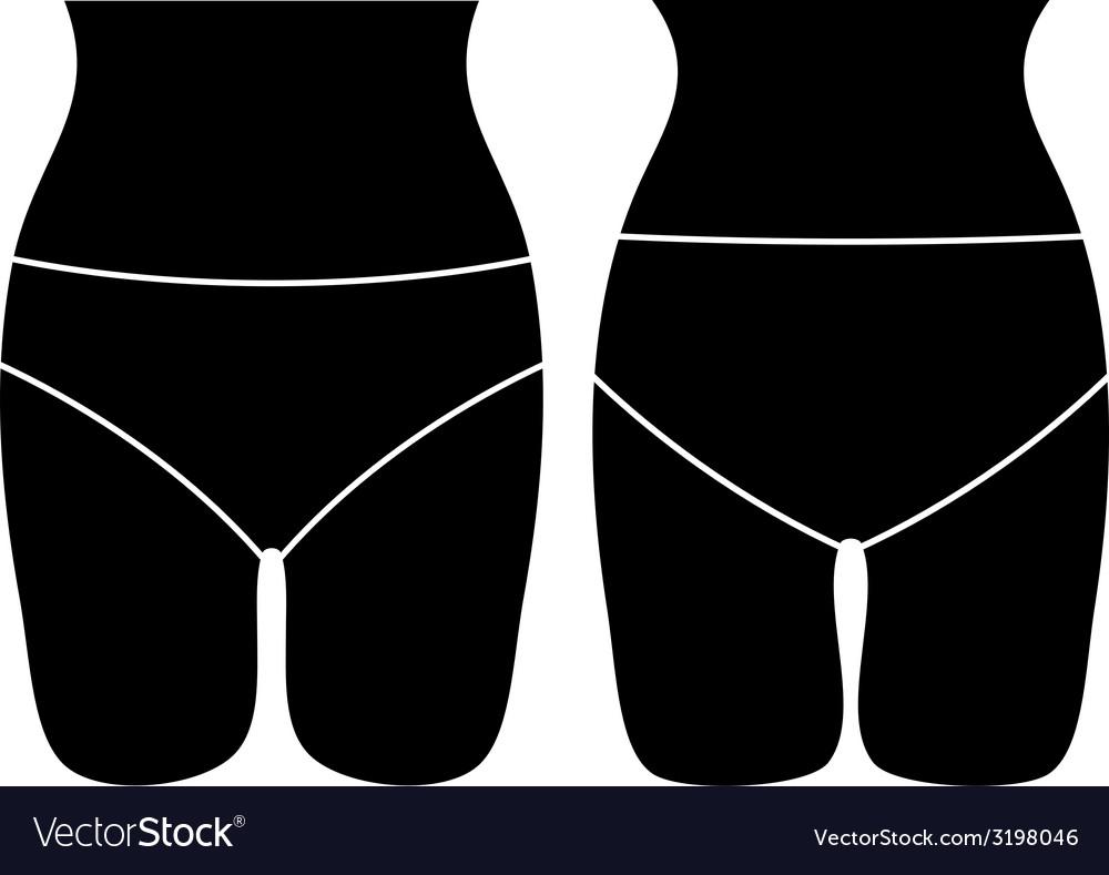 Panties layout vector | Price: 1 Credit (USD $1)