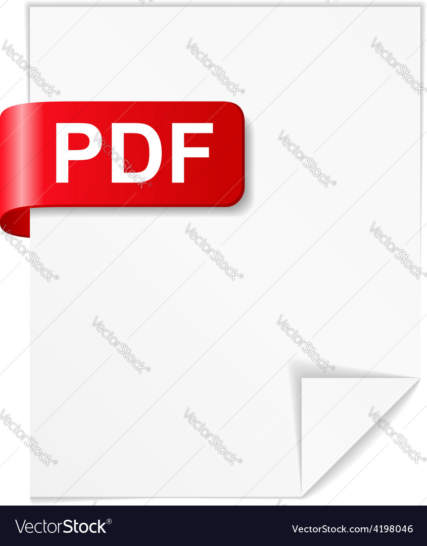 Pdf file vector | Price: 1 Credit (USD $1)