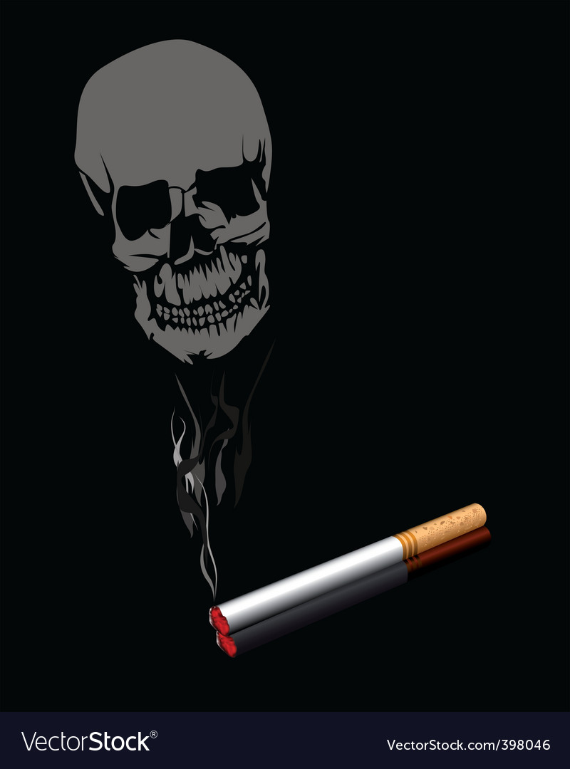Smoking is injurious to health vector | Price: 1 Credit (USD $1)