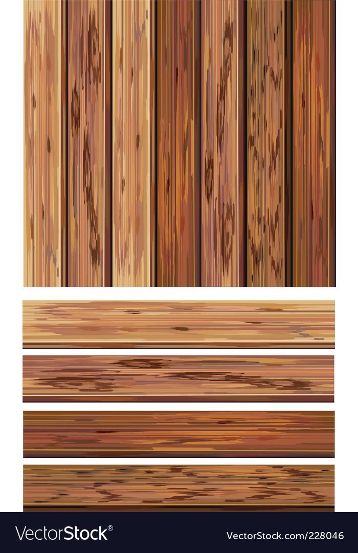 Wood textures vector | Price: 1 Credit (USD $1)