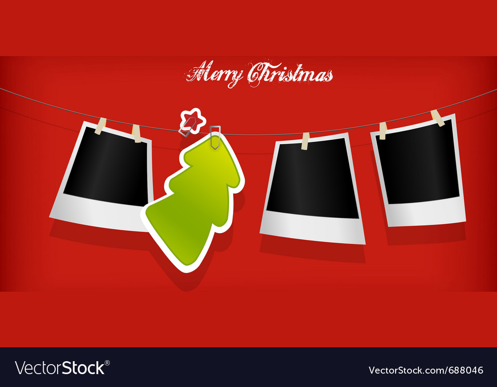 Xmas photographs vector | Price: 1 Credit (USD $1)