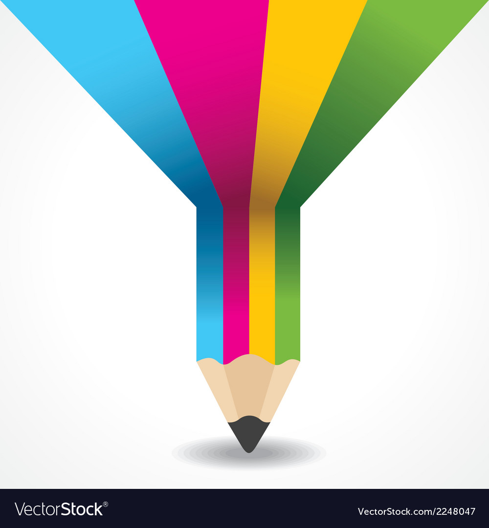 Creative info-graphic of pencil vector | Price: 1 Credit (USD $1)