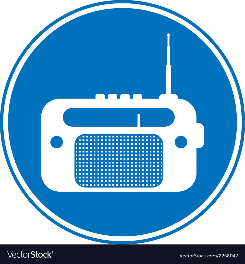 Radio button vector | Price: 1 Credit (USD $1)