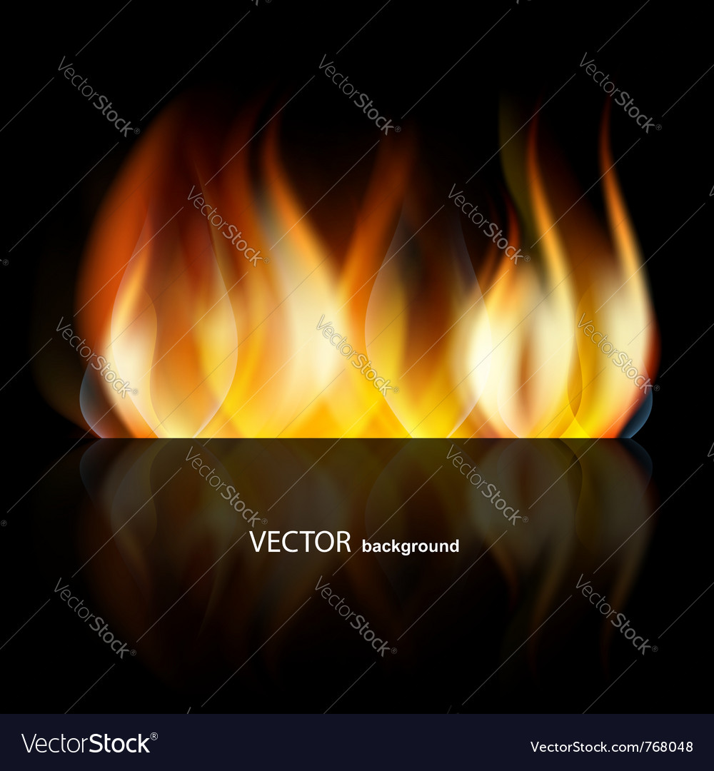 Abstract dark fire vector | Price: 1 Credit (USD $1)