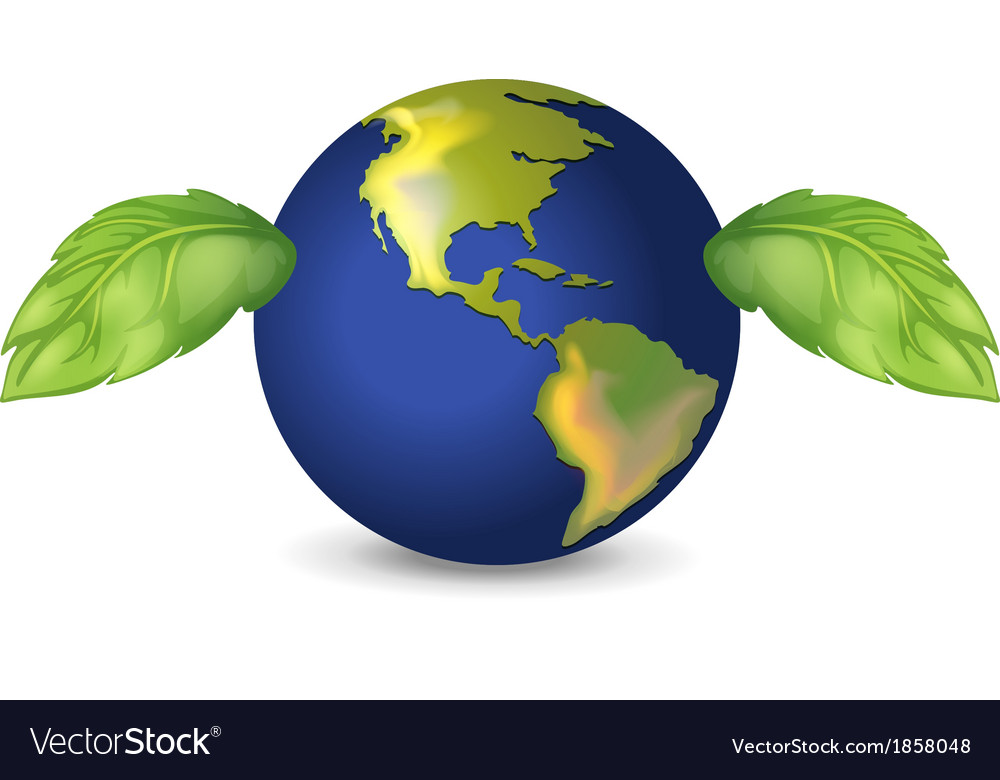 Green earth vector | Price: 1 Credit (USD $1)