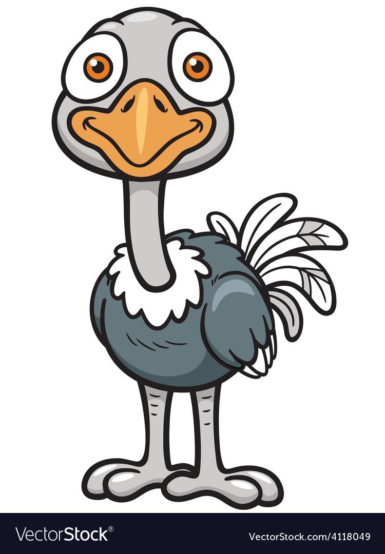 Ostrich vector | Price: 3 Credit (USD $3)