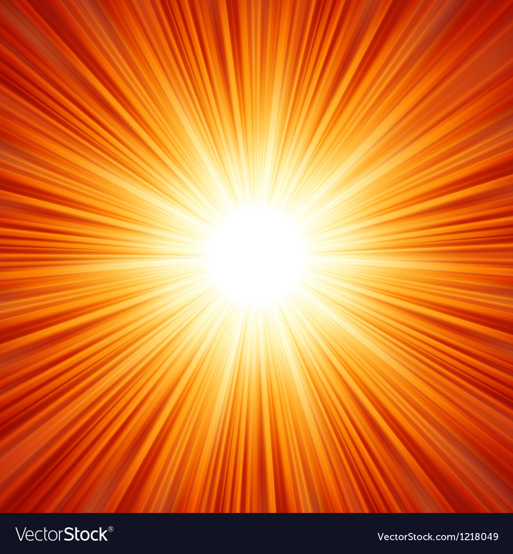 Sunburst background vector | Price: 1 Credit (USD $1)