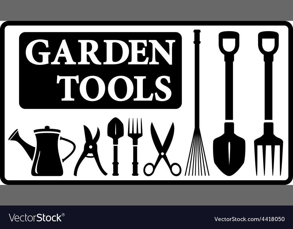 Garden tools collection vector | Price: 1 Credit (USD $1)