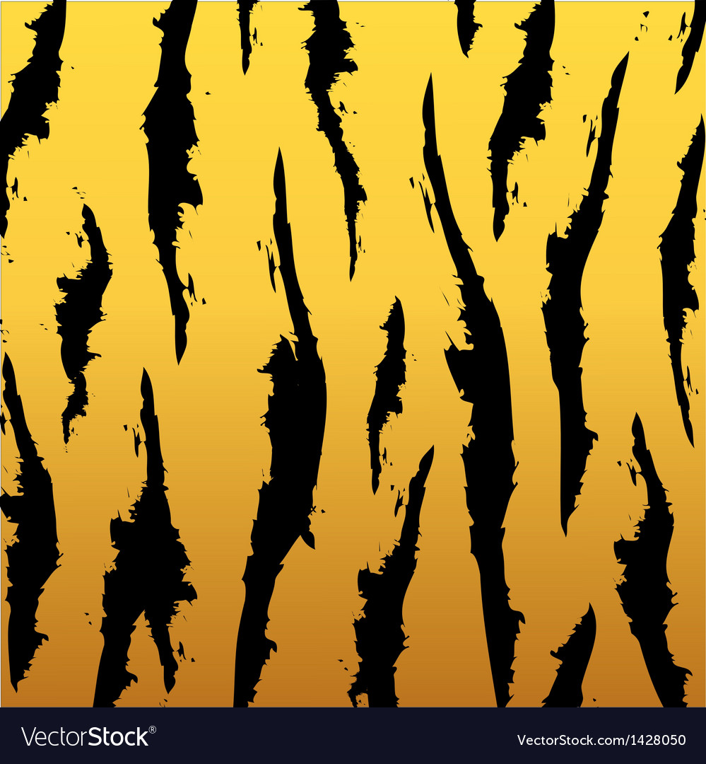 Tiger pattern vector | Price: 1 Credit (USD $1)