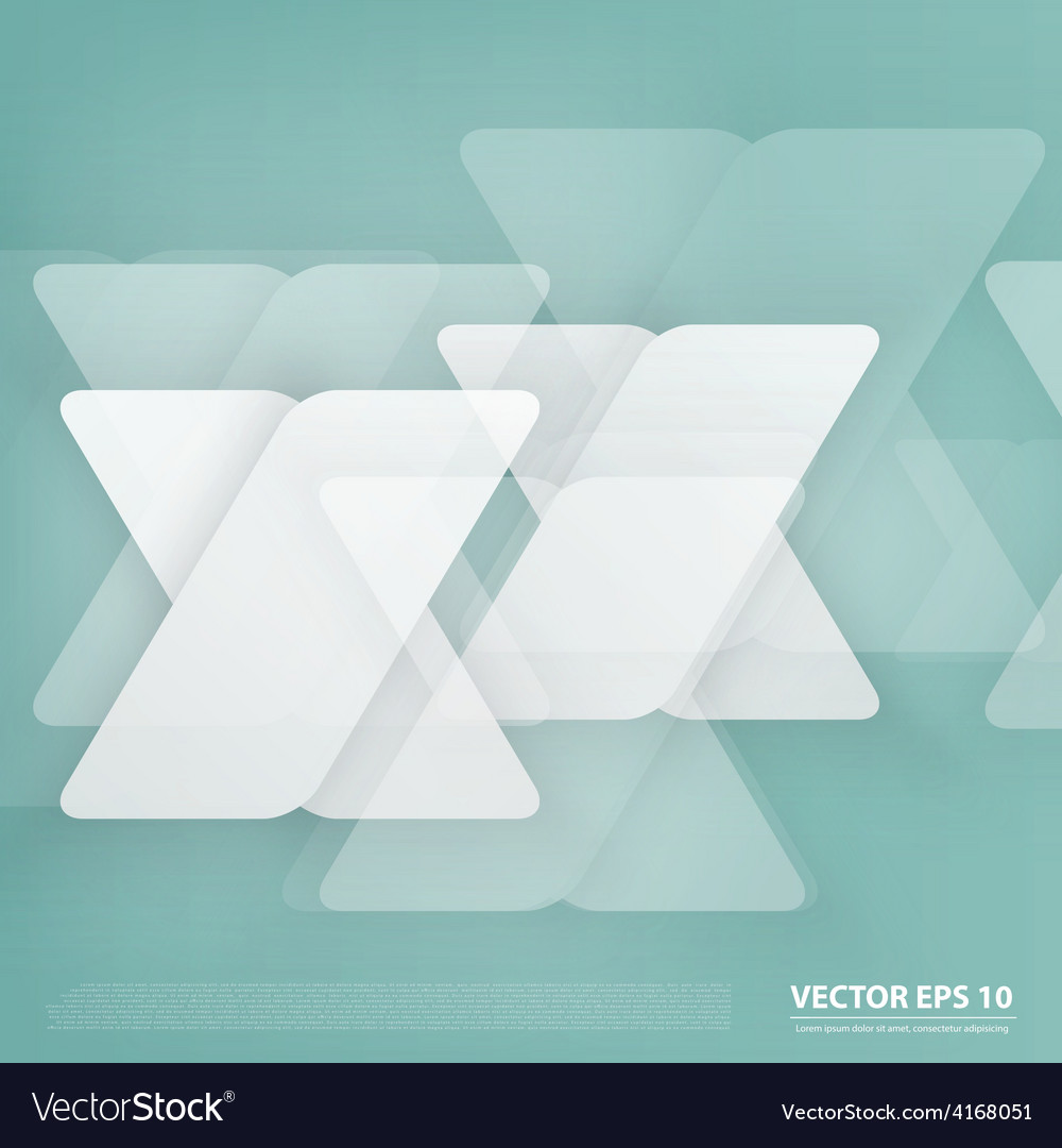 Design with triangles on the grey vector | Price: 1 Credit (USD $1)
