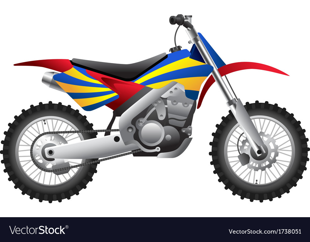 Sport motorcycle vector | Price: 1 Credit (USD $1)
