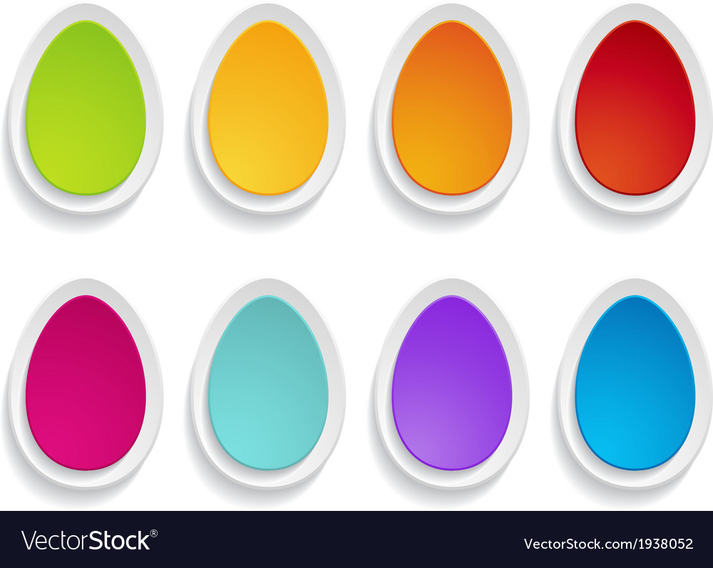 Paper eggs vector | Price: 1 Credit (USD $1)