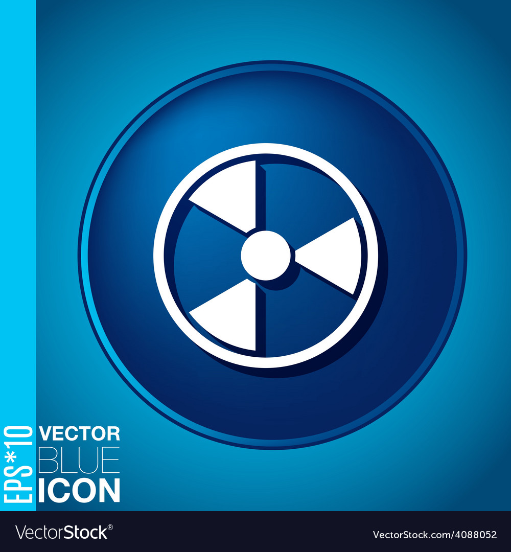 Symbol of nuclear danger vector | Price: 1 Credit (USD $1)