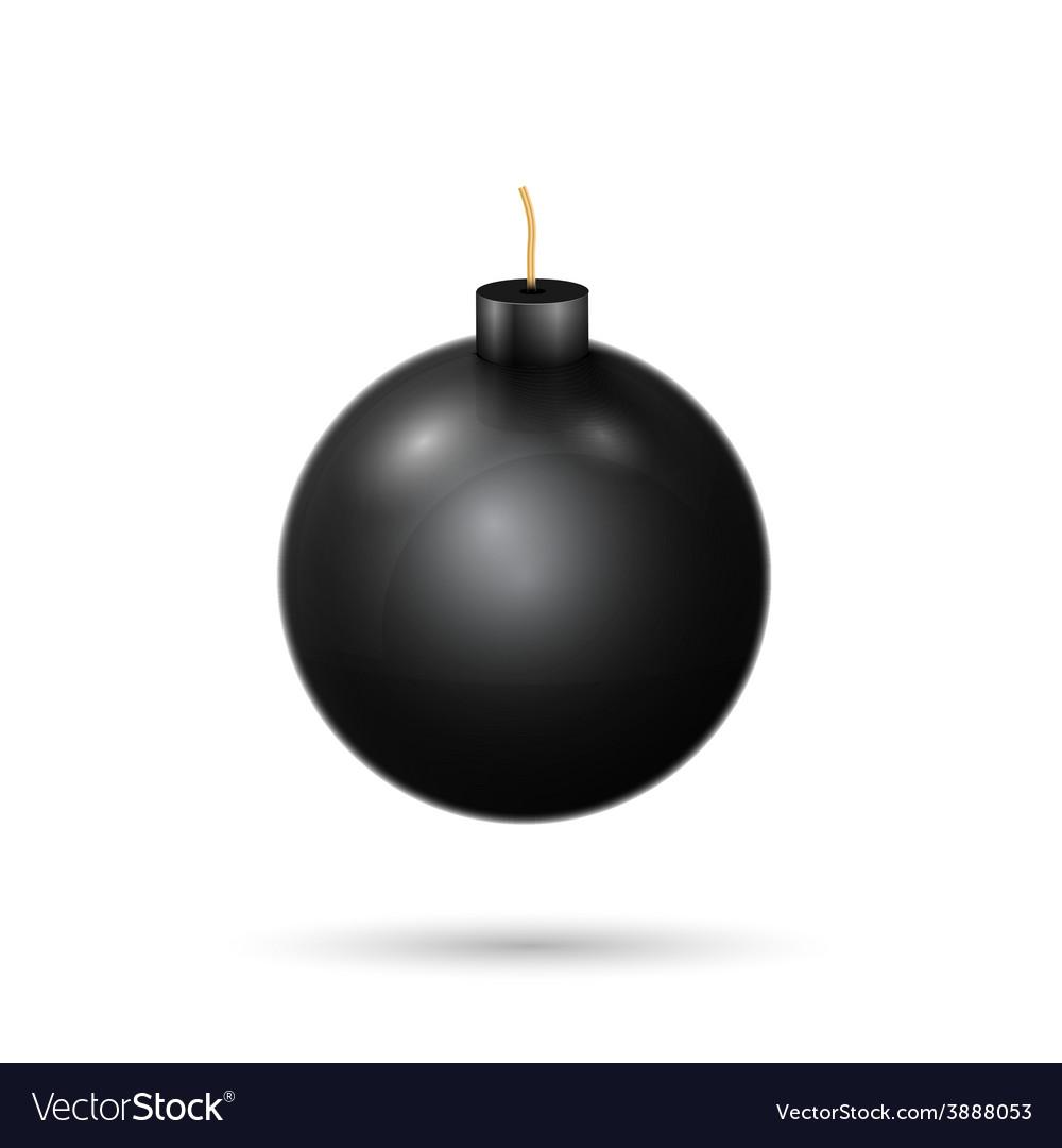 Black bomb vector | Price: 1 Credit (USD $1)
