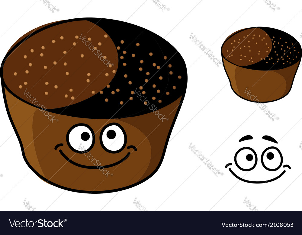 Cartoon rye bread vector | Price: 1 Credit (USD $1)