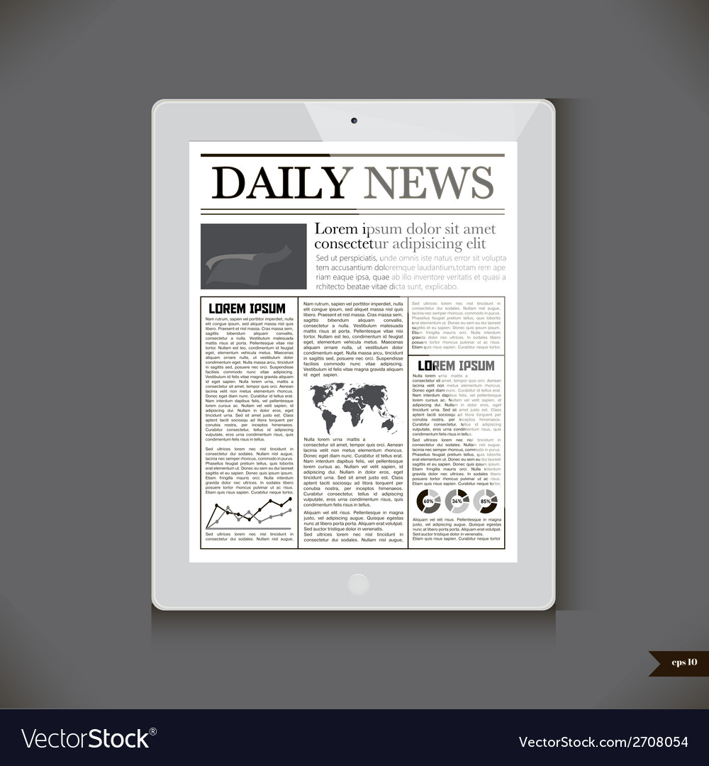 Daily news on generic tablet pc vector | Price: 1 Credit (USD $1)