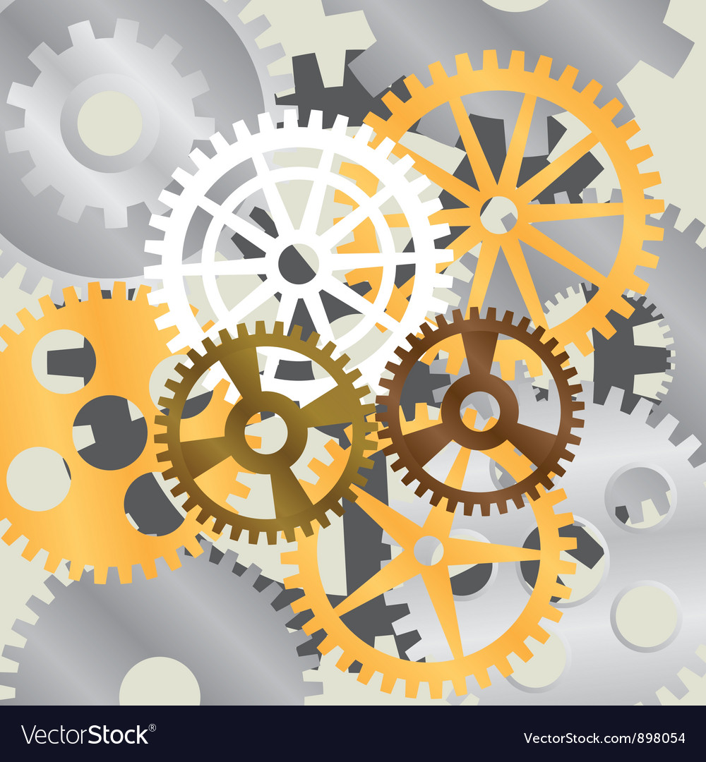 Gear background vector | Price: 1 Credit (USD $1)