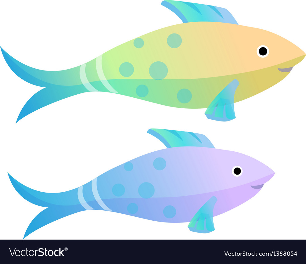 Icon fish vector | Price: 1 Credit (USD $1)