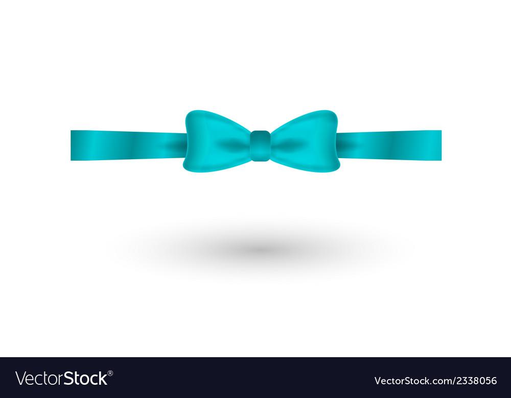 Blue elegant bow vector   Price: 1 Credit (USD $1)