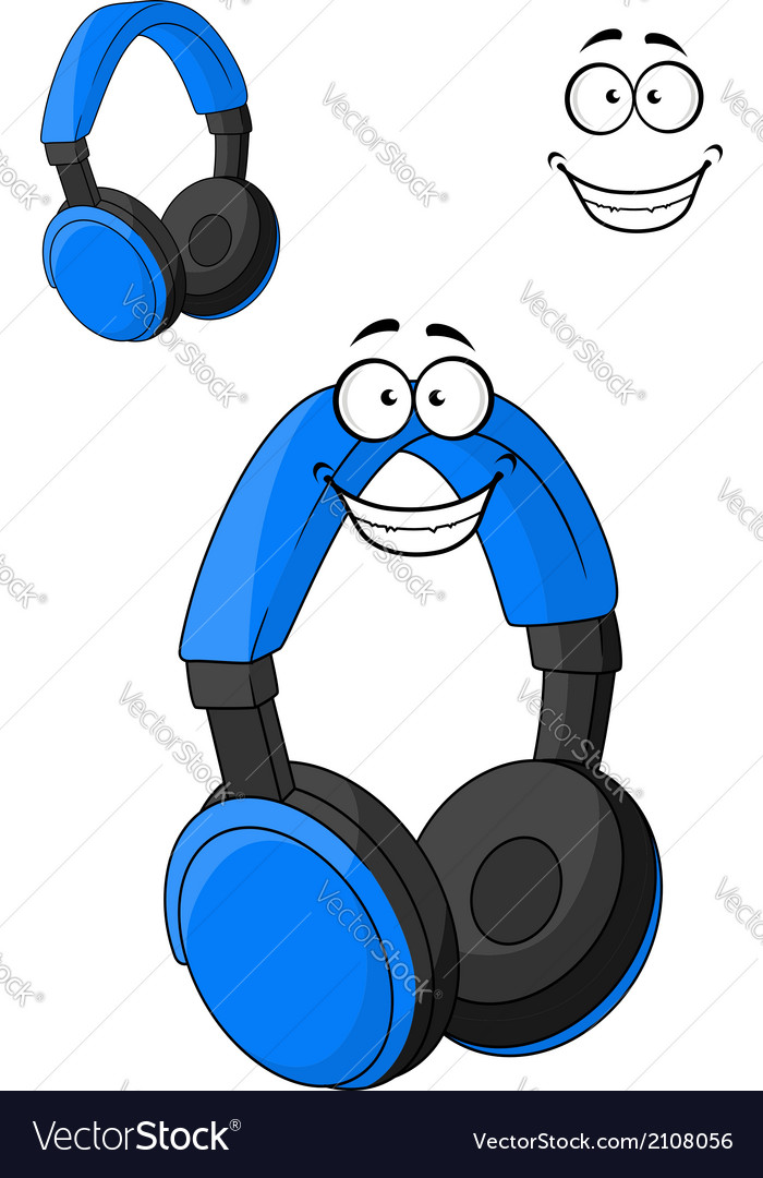 Set of headphones or earphones vector | Price: 1 Credit (USD $1)