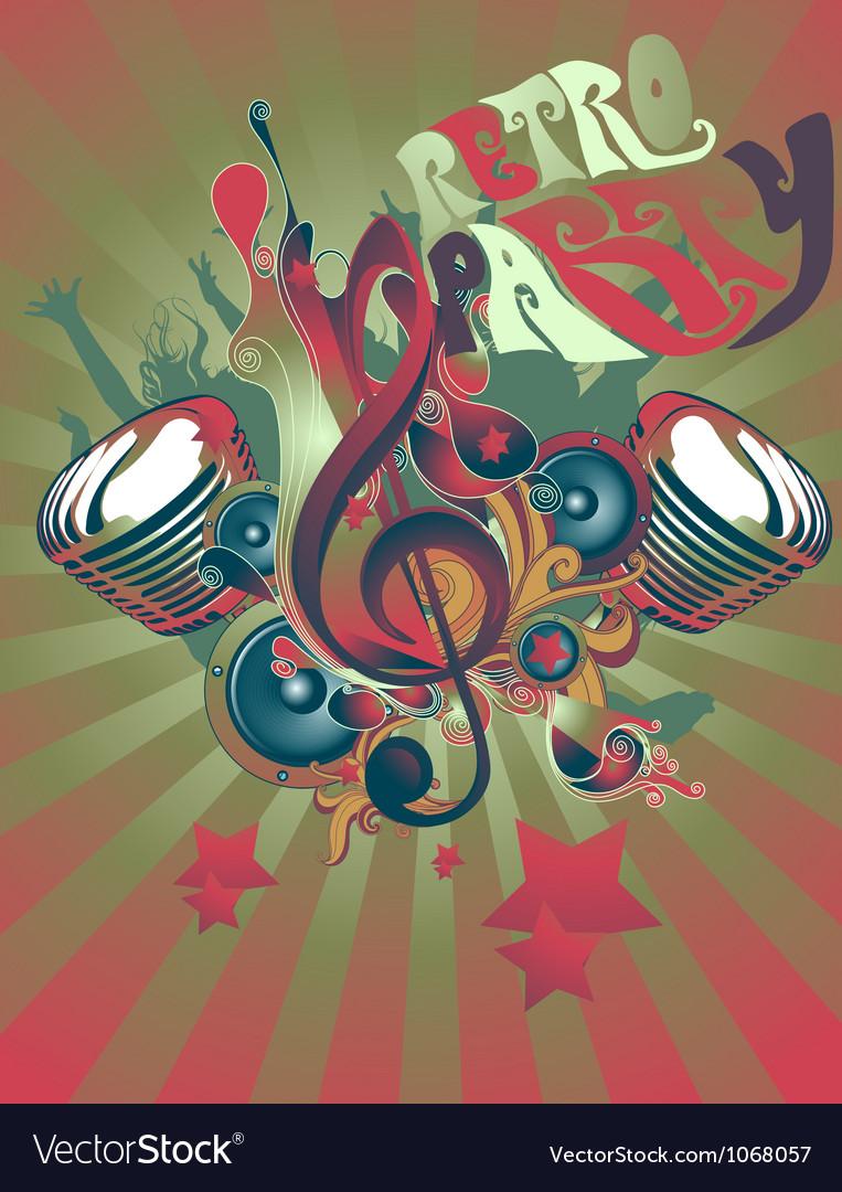 Music theme vector | Price: 1 Credit (USD $1)