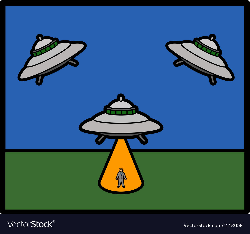 Basic ufo vector | Price: 1 Credit (USD $1)