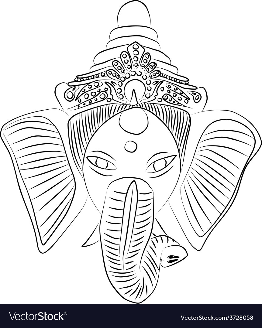 Ganesha vector | Price: 1 Credit (USD $1)