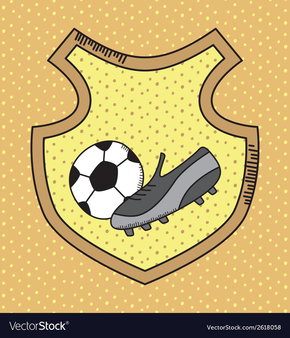 Sports design background vector | Price: 1 Credit (USD $1)