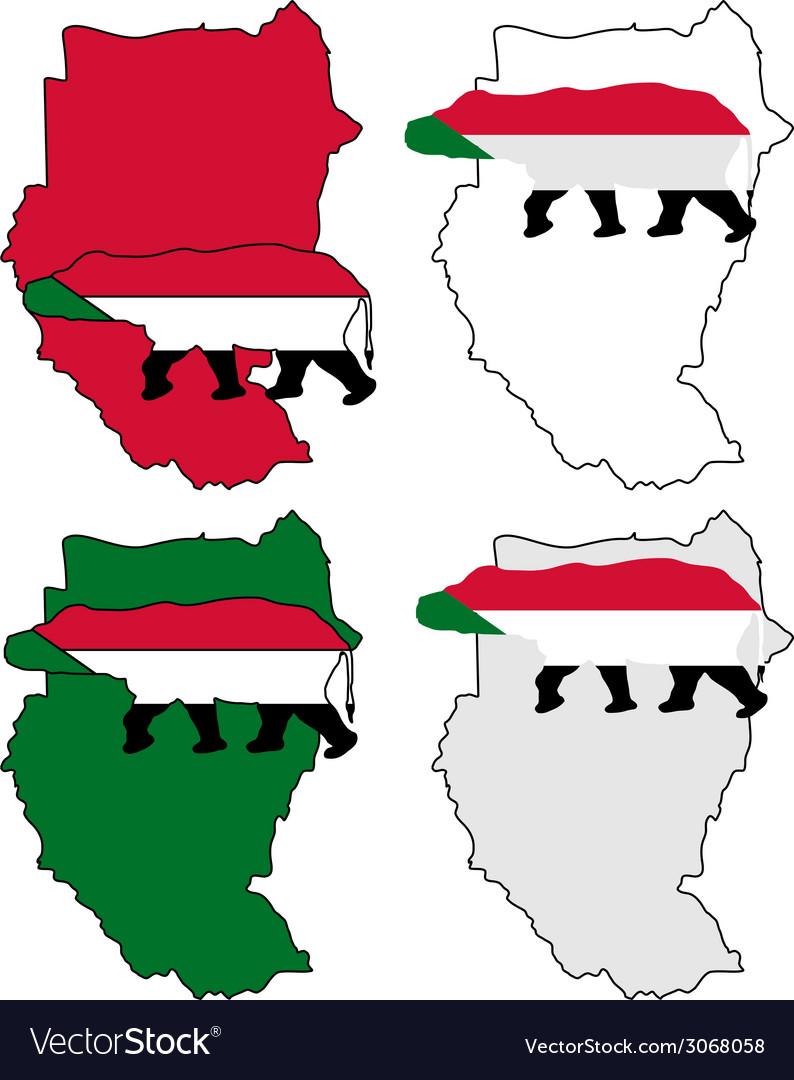 Sudan hippo vector | Price: 1 Credit (USD $1)