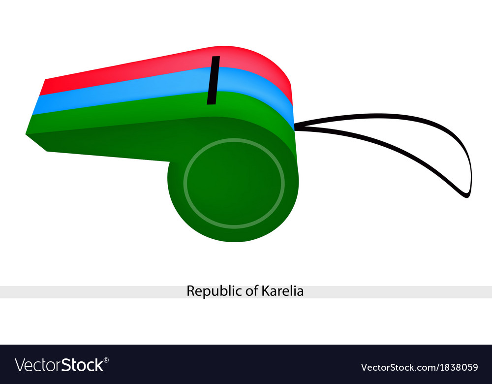 A whistle of the republic of karelia vector | Price: 1 Credit (USD $1)