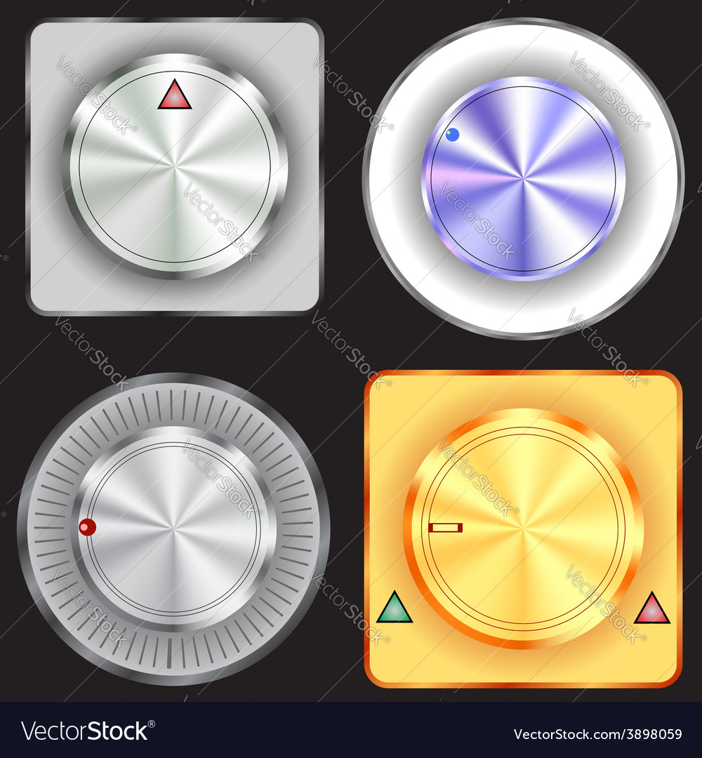 Control buttons vector | Price: 1 Credit (USD $1)