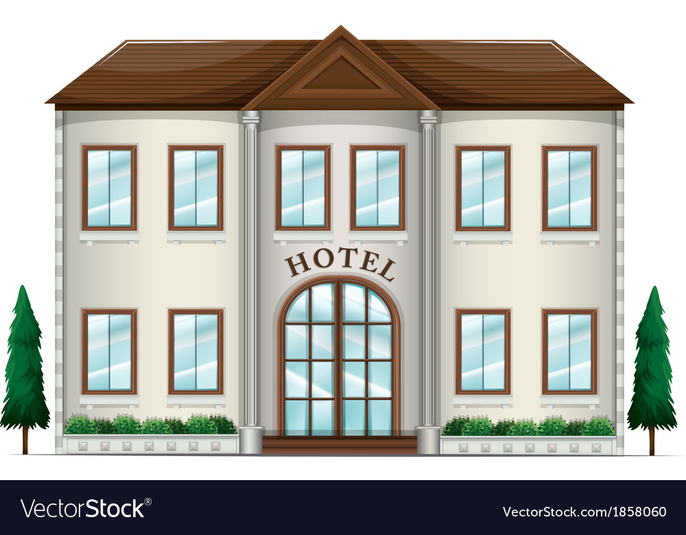 A hotel vector | Price: 1 Credit (USD $1)