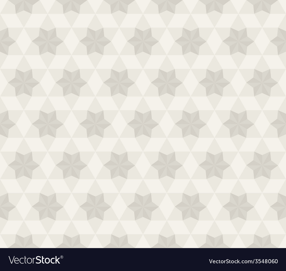 Antique star pattern seamless background vector | Price: 1 Credit (USD $1)